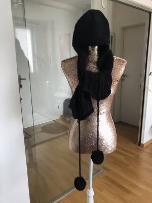 Armani Cappello a maglia nero