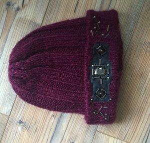 Mütze mit trendigen Details von TOPSHOP