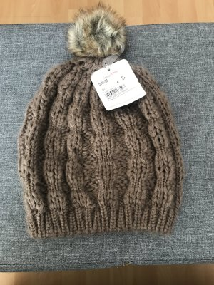 Gina Bobble Hat brown
