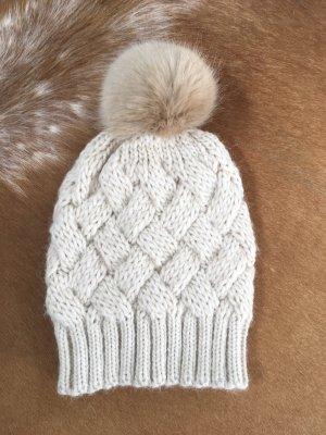 Passport Sombrero de punto beige