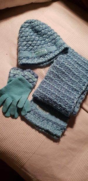 Adidas Woolen Scarf turquoise