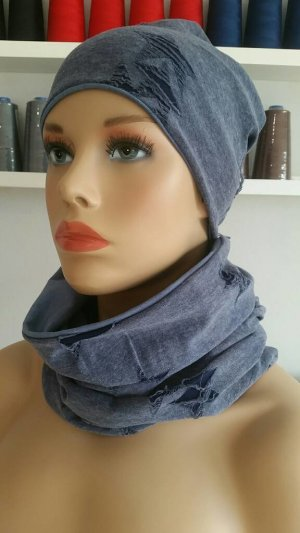 Tube Scarf steel blue