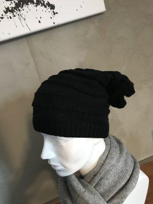 Mütze Schwarz Neu