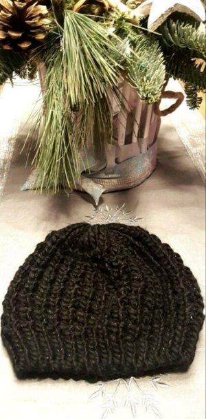 Mütze, Strick, edel, glänzend, warm, Winter