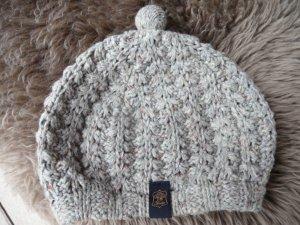 Tommy Hilfiger Chapeau en tricot gris tissu mixte