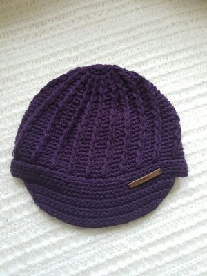 Barts Cap dark violet