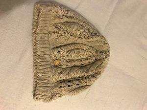Tommy Hilfiger Bonnet en crochet crème-beige