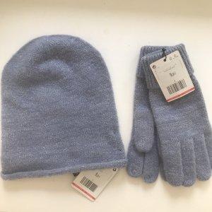 Mütze und Handschuhe im Set