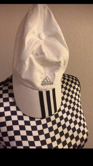 Adidas Baseballpet wit-zwart