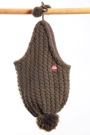 Chapeau en tricot bronze polyester