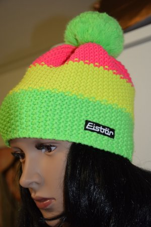 Eisbär Bobble Hat multicolored wool