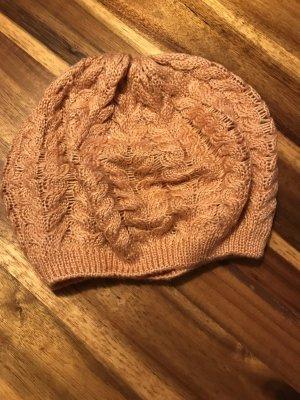 H&M Chapeau en tricot abricot-saumon