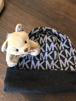 Michael Kors Chapeau en tricot gris-argenté