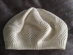 Seeberger Crochet Cap white