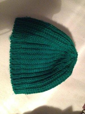 Topshop Gorro tejido verde