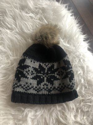 Even & Odd Knitted Hat multicolored