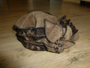 Mütze Wollmütze braun