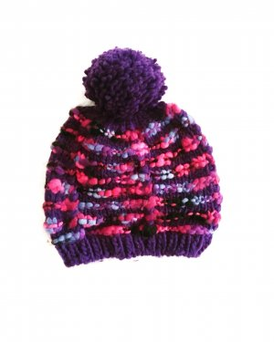 Vintage Knitted Hat multicolored
