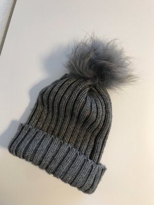 Knitted Hat grey