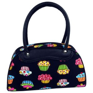 Muffin Cupcake Handtasche Shopper Bowlingbag