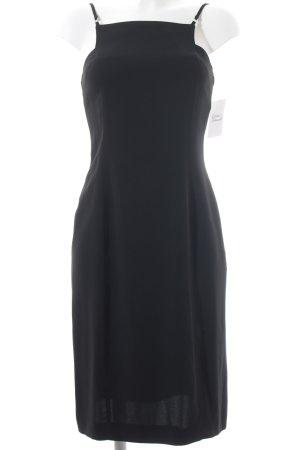 Mugler Cocktailkleid schwarz Elegant