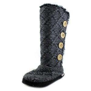 100% Fashion High Boots black-dark grey