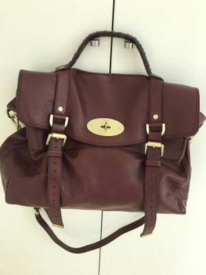 Mulberry Alexa Bordeaux
