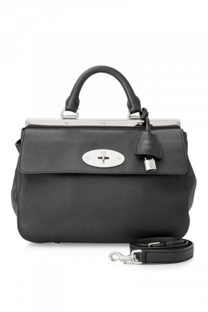 Mulberry Calf Leather Dorothy Satchel