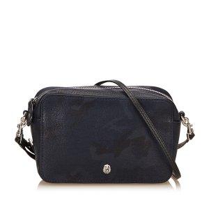 Mulberry Camouflage Leather Shoulder Bag