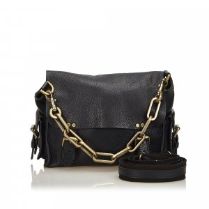 Mulberry Chain Leather Messenger Bag