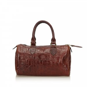 Mulberry Borsetta marrone scuro Pelle