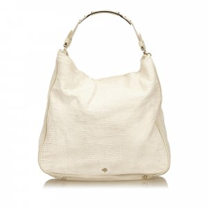 Mulberry Hobos white leather