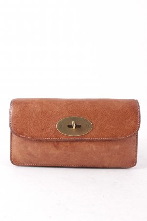 Mulberry Wallet cognac-coloured classic style
