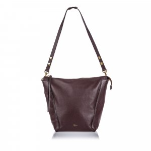 Mulberry Grained Leather Camden Shoulder Bag