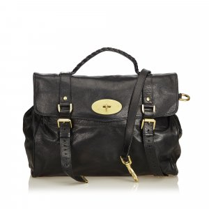 Mulberry Satchel black leather