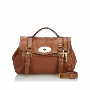 Mulberry Sacoche marron clair cuir