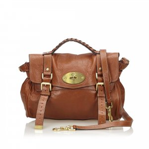 Mulberry Cartella marrone Pelle