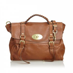 Mulberry Cartella marrone scuro Pelle