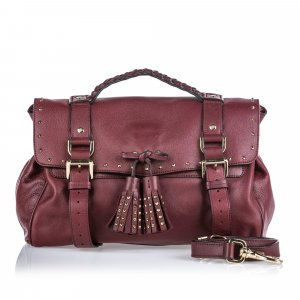 Mulberry Leather Alexa Tassel Bag
