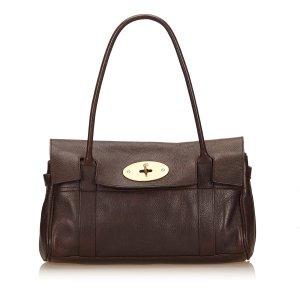 Mulberry Bolso de compra marrón Cuero