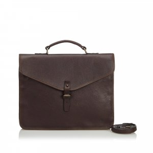 Mulberry Bolso business negro Cuero