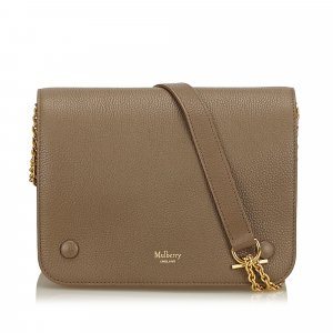 Mulberry Leather Clifton Shoulder Bag