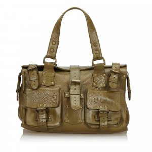 Mulberry Handbag brown leather