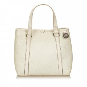 Mulberry Tote white leather