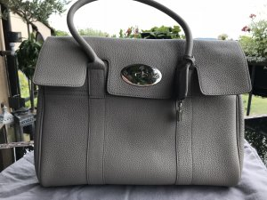 Mulberry London Bayswater Bag Grau Leder