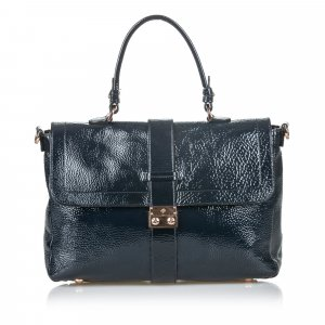 Mulberry Patent Leather Harriet Satchel