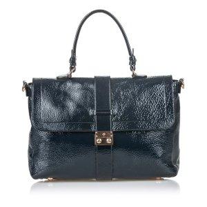 Mulberry Satchel black imitation leather