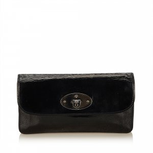 Mulberry Patent Leather Long Wallet