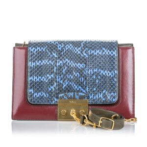 Mulberry Python Pembroke Shoulder Bag