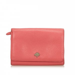Mulberry Wallet pink leather